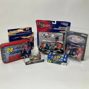 Jeff Gordon #24 Collectors Lot of 6 Die Cast - Playing Cards - Limited Editions