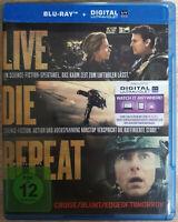 Live Die Repeat Edge of Tomorrow Bluray Neuwertig Like New Blu-ray Emily Blunt