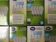 48 Pack LED 60W = 9W Soft White 60 Watt Equivalent A19 2700K light bulb