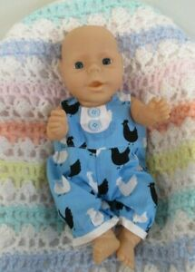 Cute Little All Vinyl Anatomically Correct Baby Boy Doll for Reborn, Keeps