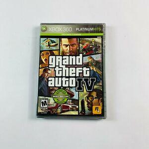 Grand Theft Auto IV - Platinum Hits Xbox 360 (Factory Sealed Condition) NTSC