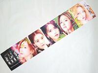 SNSD Girls Generation KPOP Photo Cheer Slogan Towel SM Yuri Tiffany Sunny SeoHyu
