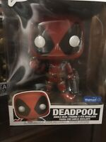 "Funko POP! Marvel: Deadpool - 10"" Deadpool (Red) - Walmart Exclusive 544"