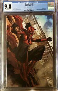 DAREDEVIL #25 CGC 9.8 Marvel Comics 3/21 Unknown Comics Virgin Elektra Daredevil