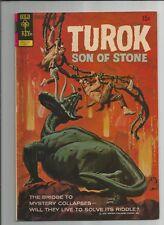 TUROK SON OF STONE #78 VG+ OW/ WHITE PAGES BRONZE AGE COMIC GOLD KEY 1972
