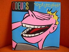 VINYL 45 T – ODEURS : OPTIMISTE – EX ! – FRENCH ROCK RAMON PIPIN – 1984