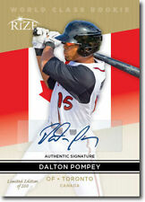 DALTON POMPEY 2014 Rize *GOLD* World Class Certified AUTOGRAPH RC Only 200 Made!