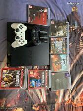 Console PS3 + 14 jeux + 2 manettes