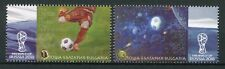 Bulgaria 2018 MNH FIFA World Cup Football Russia 2018 2v Set Soccer Stamps