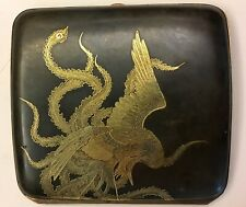 Japanese Kamai Atelier Fully Decorated with Phoenix Cigarette Case