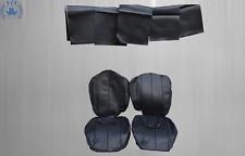 Sitzbezüge für Mercedes SL R129  bis Bj.96, schwarz  Kunstleder für Rückbank