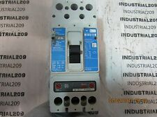 CUTLER HAMMER JD2250F CIRCUIT BREAKER 200 AMP TRIP USED