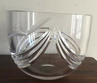 Beautiful Vintage Crystal Bowl Made In Poland?