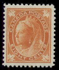 CANADA #72 8¢ orange, og, NH, VF, Miller certificate, Scott $850.00