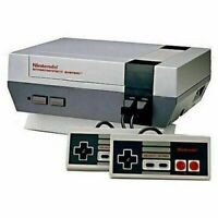 Original NES Console (Working) with 2 Controllers And Power Cord