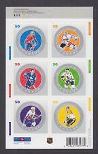 CANADA BOOKLET BK305 50c x 6 NHL ALL-STARS