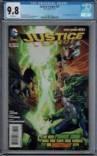 CGC 9.8 JUSTICE LEAGUE #31 1ST FULL JESSICA CRUZ NEW GREEN LANTERN