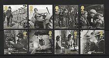 GB Stamps 2010 'Britain Alone' sg3075-3081 - Fine used