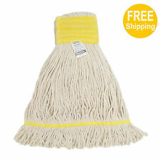 1pc 680g/24oz. SunnyCare #22683-1pc White Synthetic Cotton Loop-End Wet Mops
