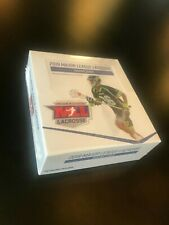 Lot of Two 2019 Parkside Collectibles MLL Lacrosse Trading Card Boxes- 40 Packs