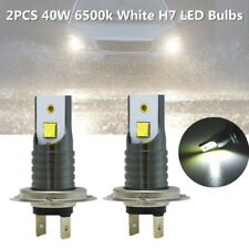 2PCS DC12V 40W 6500K White H7 LED Bulb Canbus Car Headlight Fog Lights Lamp 0.4A