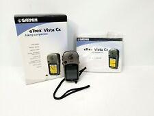 Garmin eTrex Vista Cx Handheld GPS Unit Waterproof Hiking Companion in Box