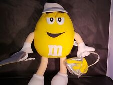 """M and M Yellow 14"""" Plush Painter with Paint Can"""