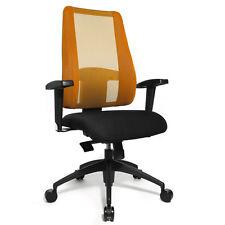Topstar Bürostuhl Lady Sitness Deluxe Netz orange LT20BTW504 B-Ware