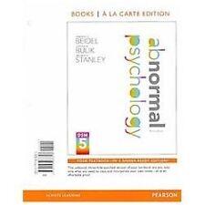 Abnormal Psychology, Books a la Carte Edition 3rd Edition
