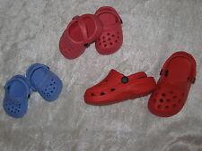 Heless Puppenschuhe,Clogs, 3 Größen, Füßchen 4 cm, 5 cm und 7 cm, für Puppen