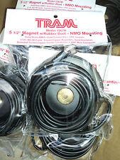 "TRAM 5 1/2"" Magnetic Mag NMO Mount MINI UHF Conn. Antenna Mount W/ Rubber 1267R"