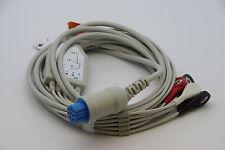ECG/EKG 1 PIECE  Cable with 5 leads Datex Ohmeda GE S5 EKG NEW US seller
