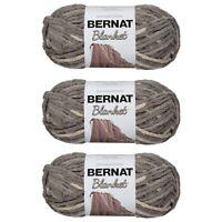 Bernat Blanket Yarn (150G/503 OZ) Silver Steel - 3 Pack