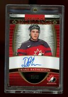 2018-19 THE CUP CANADA PROGRAM OF EXCELLENCE AUTO DRAKE BATHERSON RC #01/10 SSP