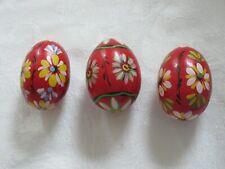 Vintage Pasanke Easter Eggs Hand Painted Tyrolean? Motif