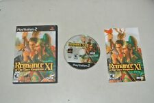 jeu PS2 : Romance of the Three Kingdoms XI (Sony PlayStation 2, 2007) complet