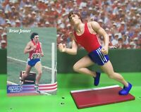1996  CAITLYN (BRUCE) JENNER Starting Lineup OLYMPIC Figure & Card - Decathlon