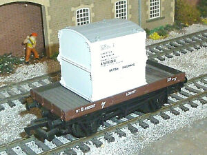 Bachmann LNER Conflat Container Wagon Near MIB 00 Gauge OO Superb 33-950