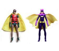 "DC Universe Batman 1966 Tv Series Robin Batgirl 6"" Loose Action Figure"