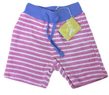 Frugi Rasberry Riple Toweling Shorties 0-3 Months