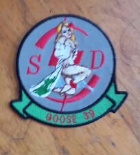 USAF PATCH, 1ST SPECIAL OPERATIONS SQUADRON,AIRCRAFT GOOSE 39 GERMAN MADE