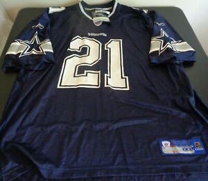 JULIUS JONES Dallas COWBOYS Football REEBOK Replica Size 2XL Jersey NEW Blue NFL