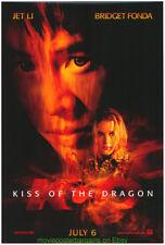2 Jet Li Movie Poster 27x40 + Elektra 13x20 Kiss Of The Dragon & Romeo Must Die