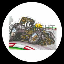 Koolart 4x4 4 x 4 Spare Wheel Graphic F1 Jps Lotus A.Senna Sticker 1091