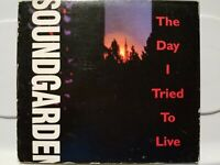 SOUNDGARDEN: THE DAY I TRIED TO LIVE 3 TRACK PROMO CD SINGLE! 1994 A&M! MINT!