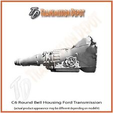 Ford C6  4x4 Transmission Round Bellhousing Stock Free Torque Converter