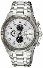 Casio Men's Edifice Chronograph Stainless Steel Sports Watch EF539D-7AV