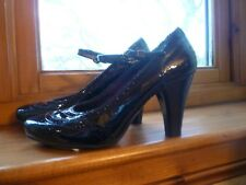 Geox black patent Mary Jane shoes, size 4, BNWT