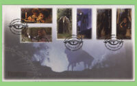 New Zealand 2001 Lord of the Rings - Fellowship set on First Day Cover