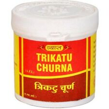 3 X Vyas Ayurveda Trikatu Churna 100 gm Digestion and Increases Appetite, Acts